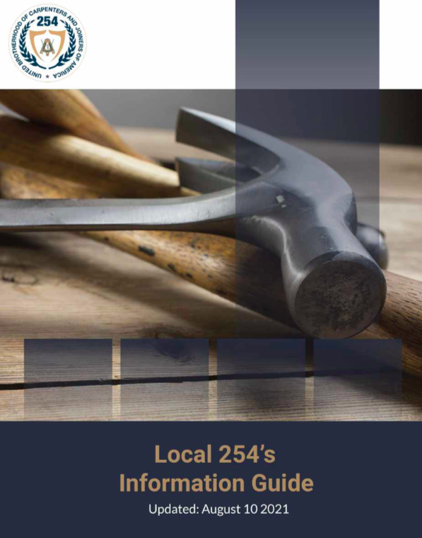 Local 254 Information Guide August 2021